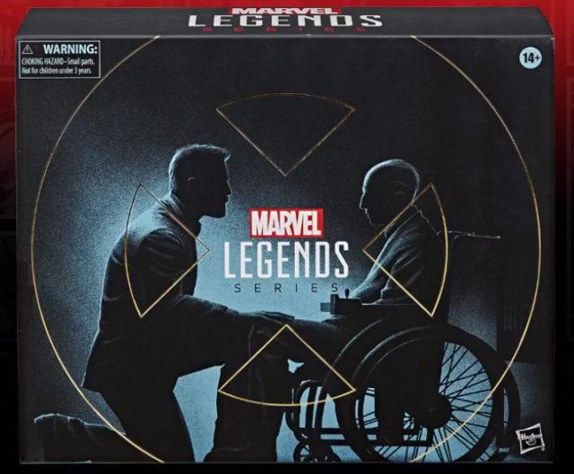 Marvel Legends Exclusive Old Man Logan Movie Figures Box Logan Charles Xavier