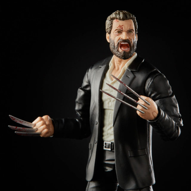 Marvel Legends Movie Logan Figure with Bloody Claws SDCC 2020 Exclusive