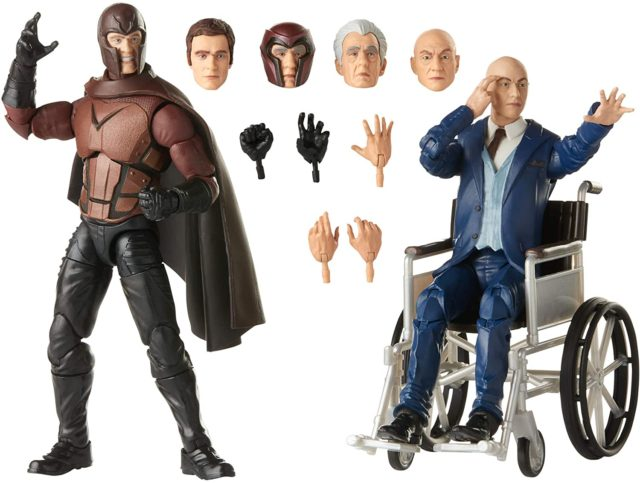 Marvel Legends Movie Magneto and Professor X Figures and Accessories X-Men