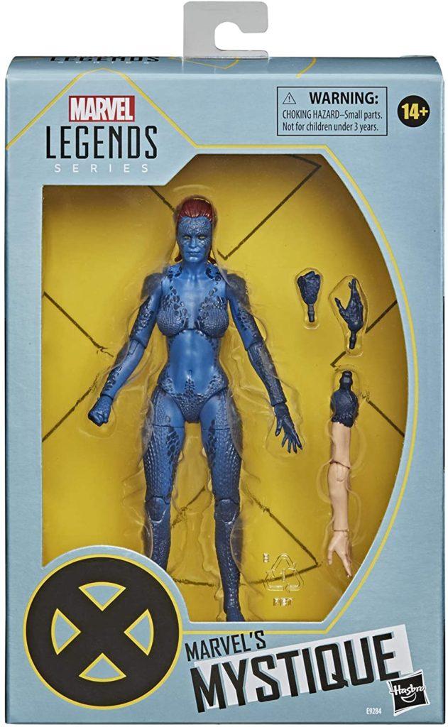 Marvel Legends Mystique Movie Figure in Box Packaged