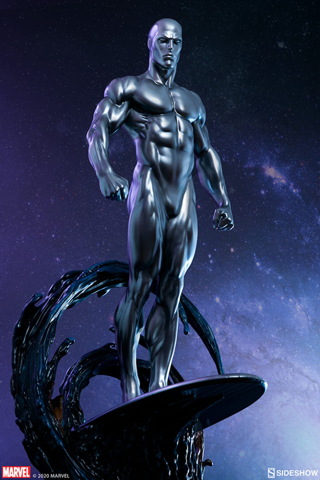 Sideshow Silver Surfer Statue Maquette Quarter Scale