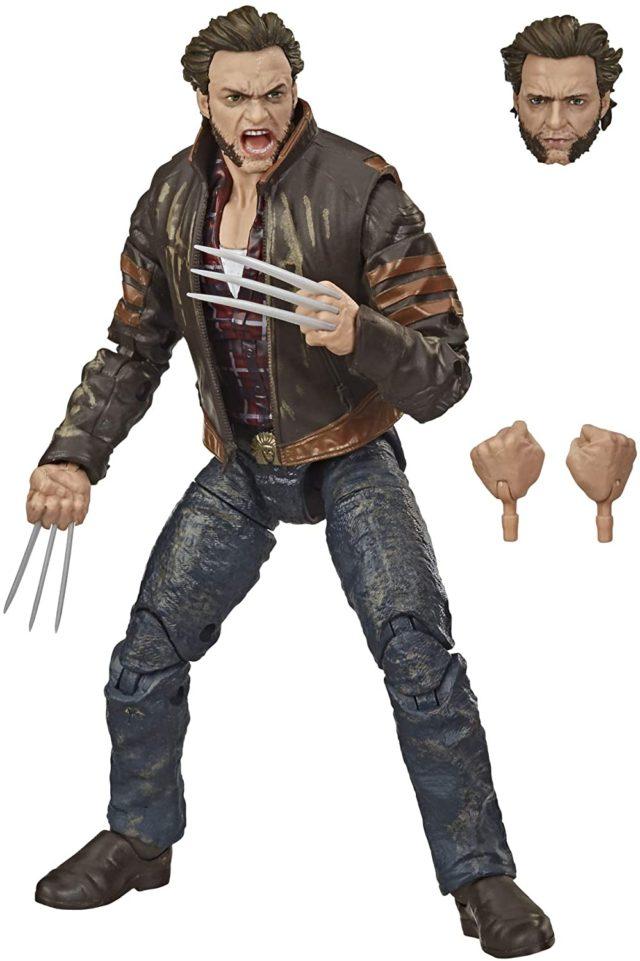 X-Men Legends Wolverine Movie Figure and Accessories