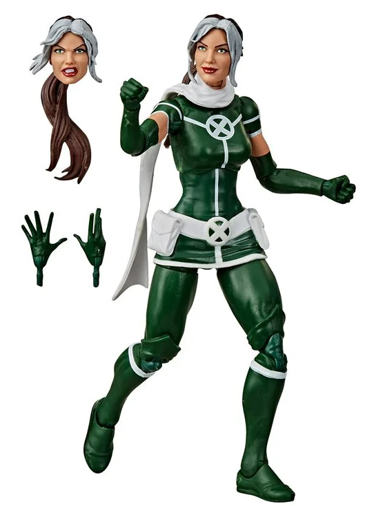 2020 Marvel Legends Rogue X-Men Hasbro Figure Two-Pack with Pyro