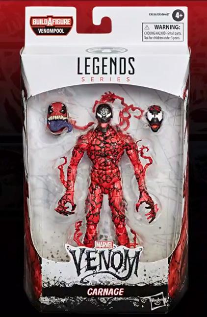 Marvel Legends Venom Series Carnage Packaged 2020 Figure Maximum Carnage