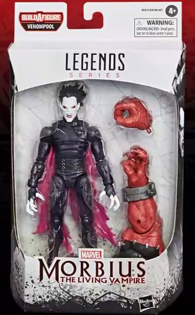 Marvel Legends Venom Series Morbius Figure Packaged