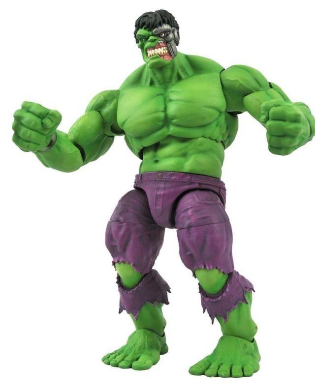Marvel Select Robot Hulk Cosmic Hulk Figure Head