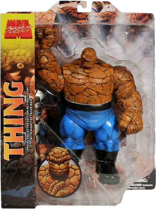 The Thing Marvel Select Figure Packaged Diamond Select Toys
