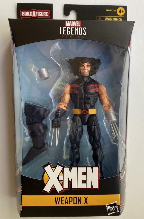 Packaged Marvel Legends AOA Wolverine X-Men Hasbro Figure