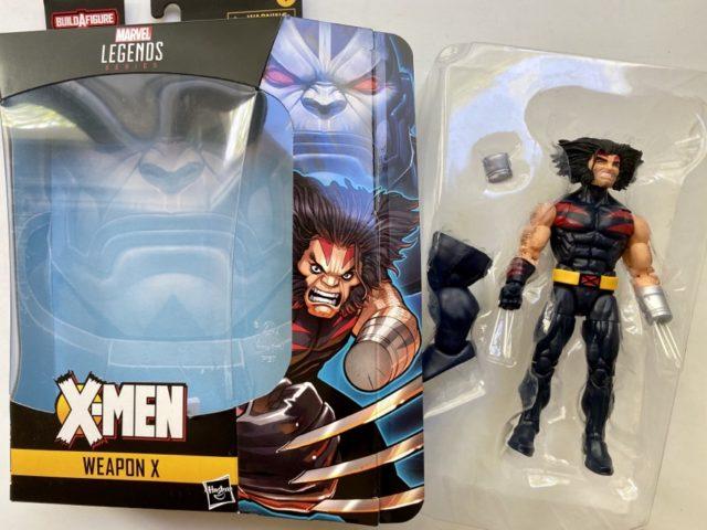 Unboxing X-Men Legends AOA Weapon X Wolverine Figure
