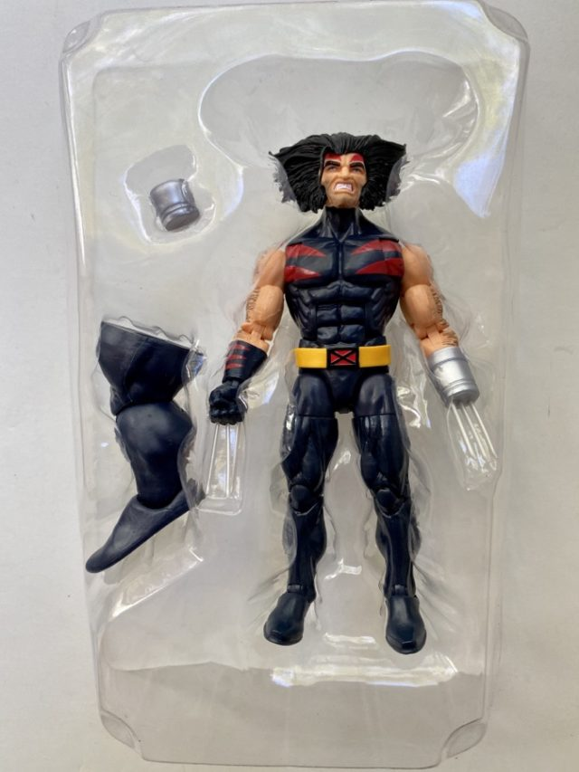 AOA Wolverine Weapon X Hasbro Figure and Accessories
