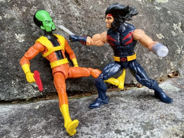 Marvel Legends 2020 The Leader vs Weapon X Wolverine Age of Apocalypse