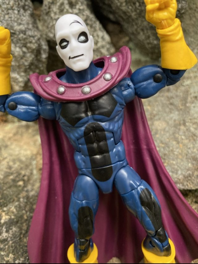 Close-Up of Age of Apocalypse Morph Marvel Legends Figure