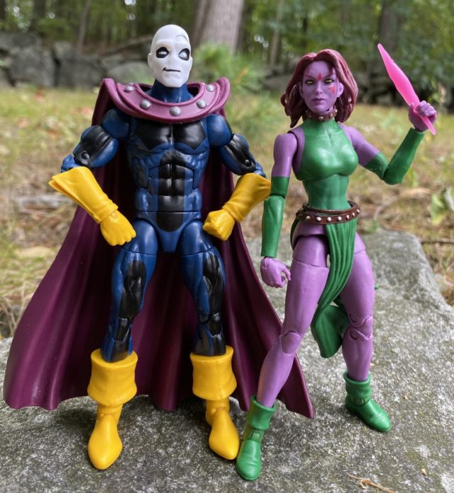 Hasbro Marvel Legends AOA Blink and Morph Figures