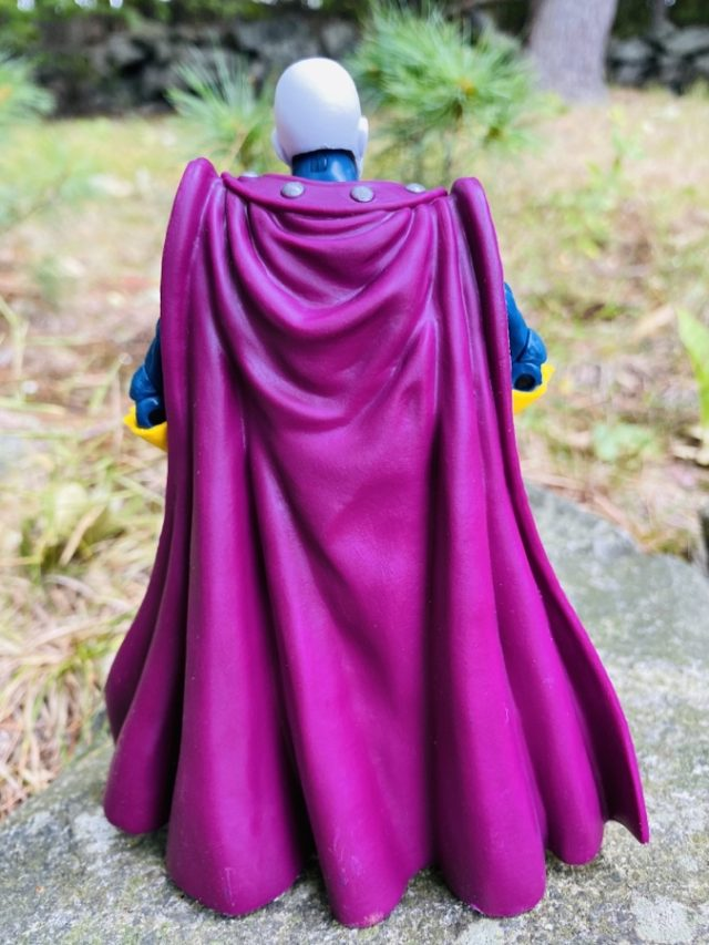 Back of Marvel Legends Morph Figure Cape