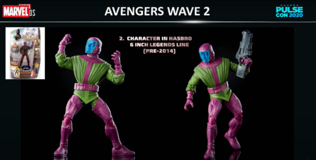 2021 Marvel Legends Kang Figure Avengers GamerVerse Wave 2