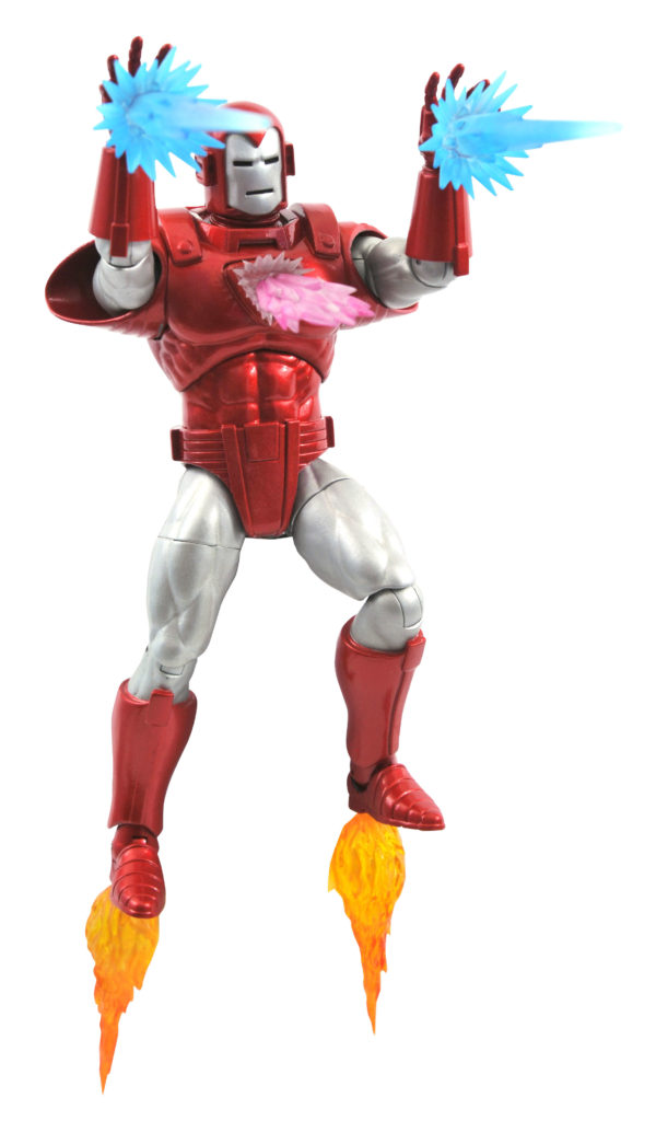 Blast Effects and Unibeam for Diamond Select Toys Silver Centurion Iron Man Action Figure