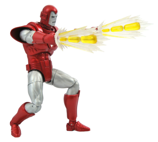 DST Silver Centurion Iron Man Select Figure Pulse Bolts Effect Pieces