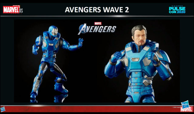 Marvel Legends GamerVerse Atmosphere Iron Man Figure Blue Armor