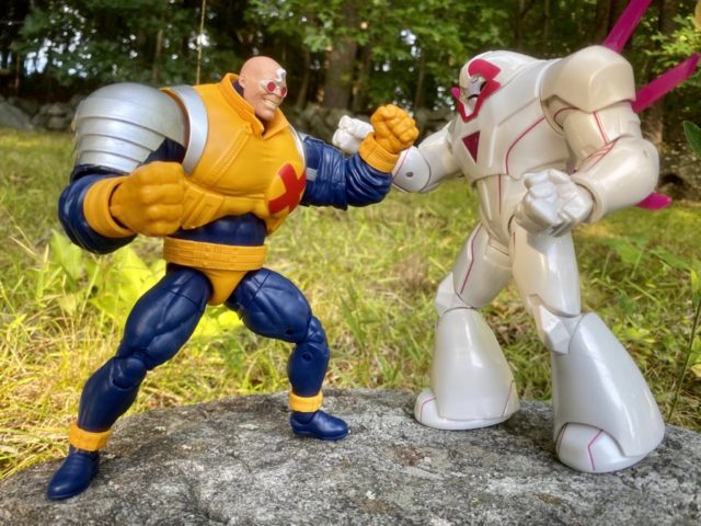 Marvel Legends Strong Guy vs Nimrod Figure