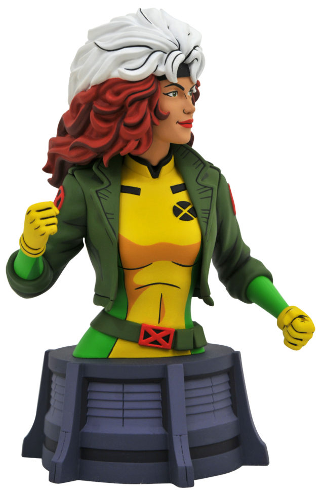DST X-Men Rogue Animated Series Mini Bust Resin