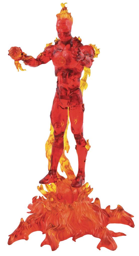 Diamond Select Toys Human Torch Select Action Figure 2021