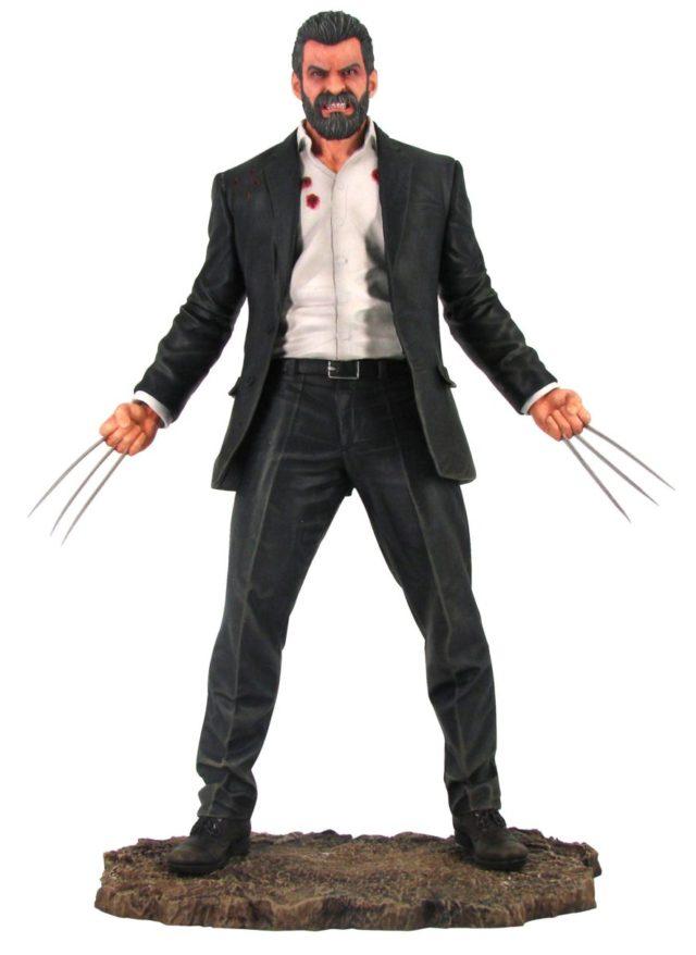 Marvel Premier Collection Logan Statue Hugh Jackman Wolverine