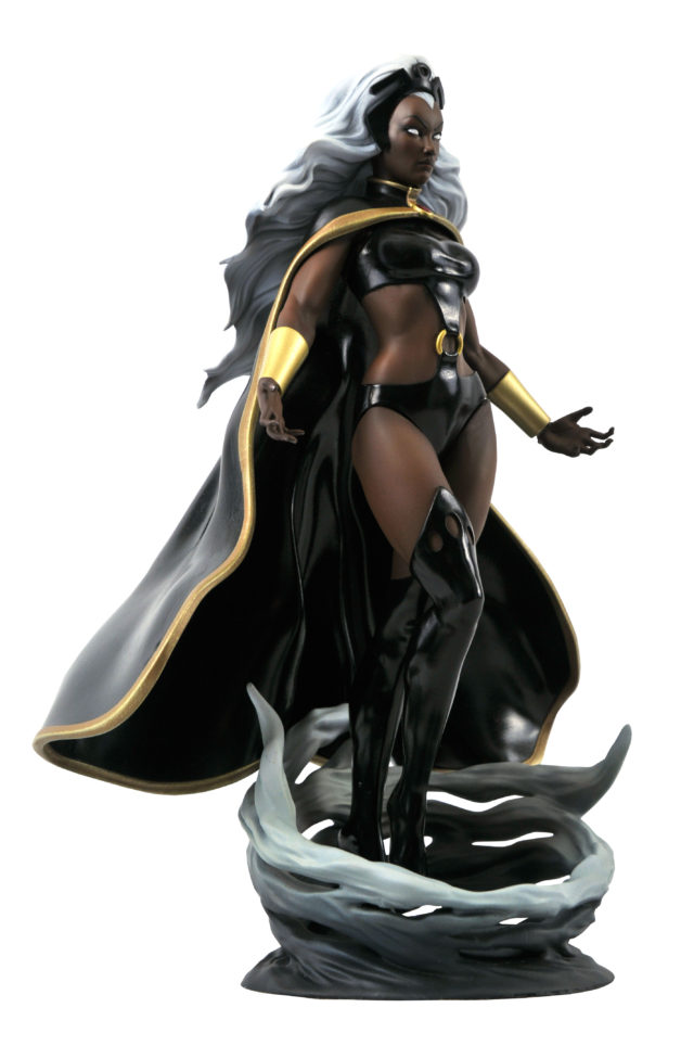 Side View of Marvel Gallery Storm Statue
