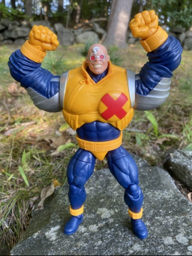 Review Marvel Legends Strong Guy Six Inch Figure BAF X-Factor
