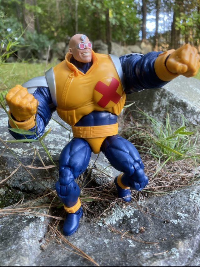 Strong Guy Marvel Legends Figure Articulation