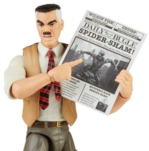 Hasbro JJJ Jameson Figure Holding Newspaper