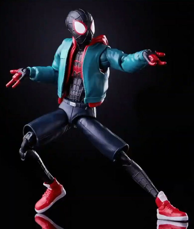 Into the Spider-Verse Marvel Legends Miles Morales Figure