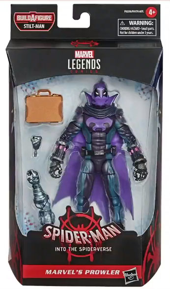 Marvel Legends 2021 Prowler into the Spider-Verse