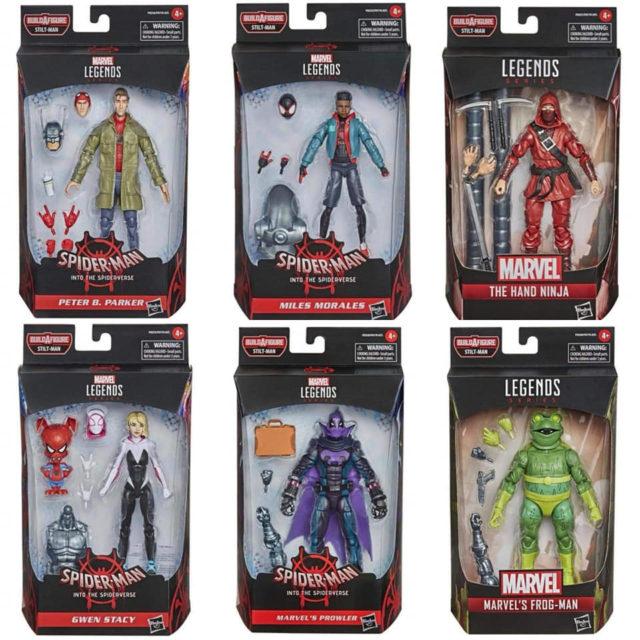 Marvel Legends 2021 Spider-Man Into The Spider-Verse Series Figures