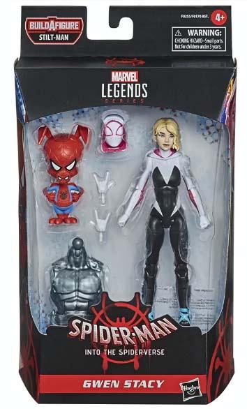 Marvel Legends Into the Spider-Verse Ghost Spider Spider-Ham Packaged