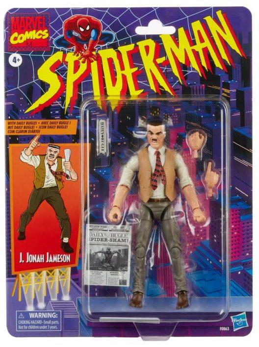 Marvel Legends J. Jonah Jameson Figure Packaged Spider-Man Retro