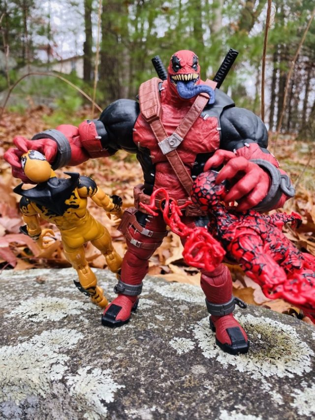 Marvel Legends 2020 Venom Deadpool vs Carnage and Phage Figures