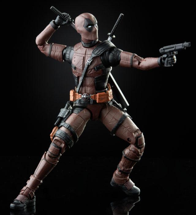 Burned Deadpool Marvel Legends Movie Figure Exclusive