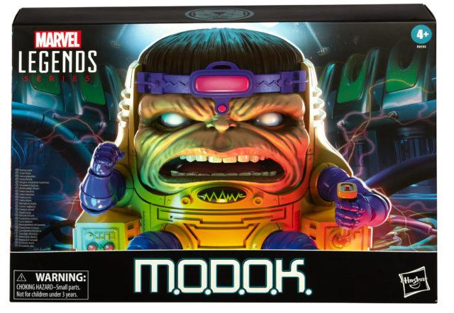 MODOK Marvel Legends 2021 Figure Packaged Box