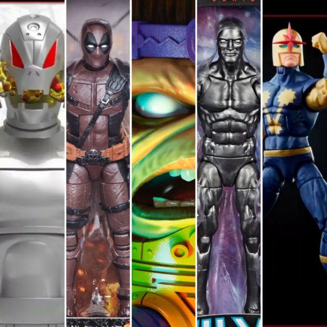 Marvel Legends 2021 Figures Ultron Nova MODOK Fallen One Silver Surfer
