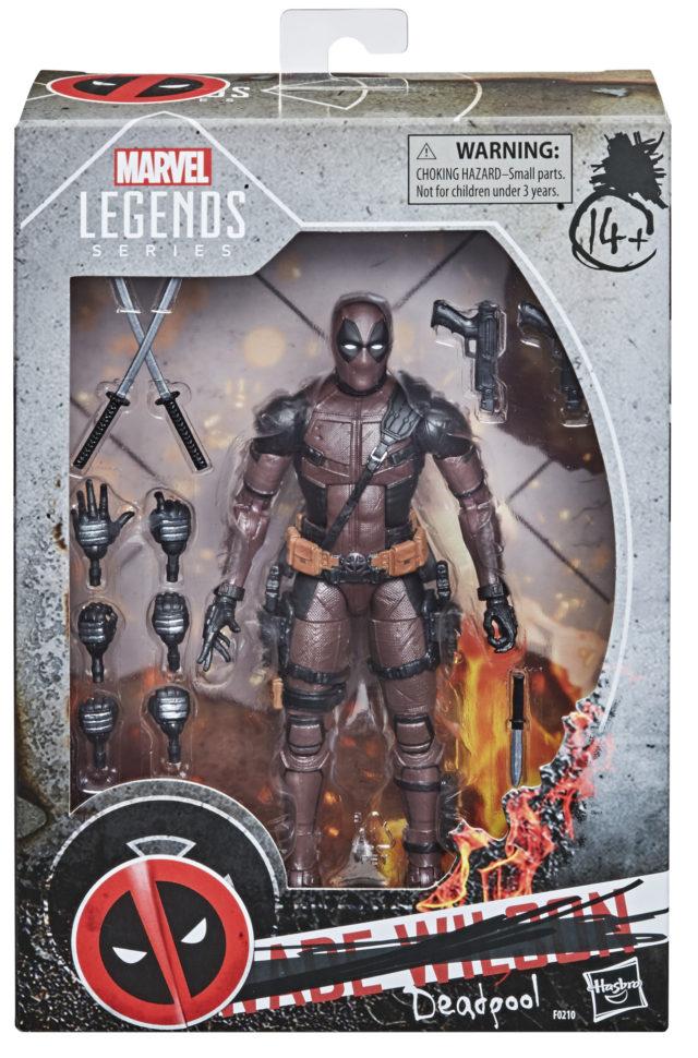 Marvel Legends Dusty Deadpool Amazon Exclusive Figure Packaged