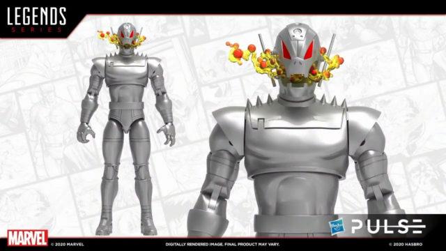 Marvel Legends Ultron Classic 2021 Figure Teaser