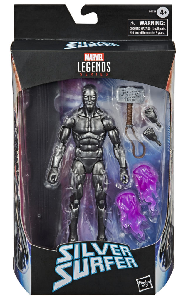 Walgreens Exclusive Fallen One Silver Surfer Figure Packaged Exclusive