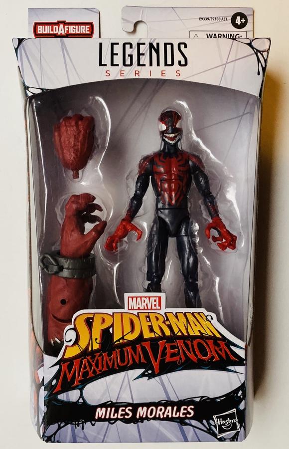 Marvel Legends Maximum Venom Miles Morales Packaged In Box
