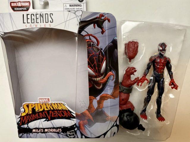 Unboxing Hasbro Miles Morales Venom Marvel Legends Figure