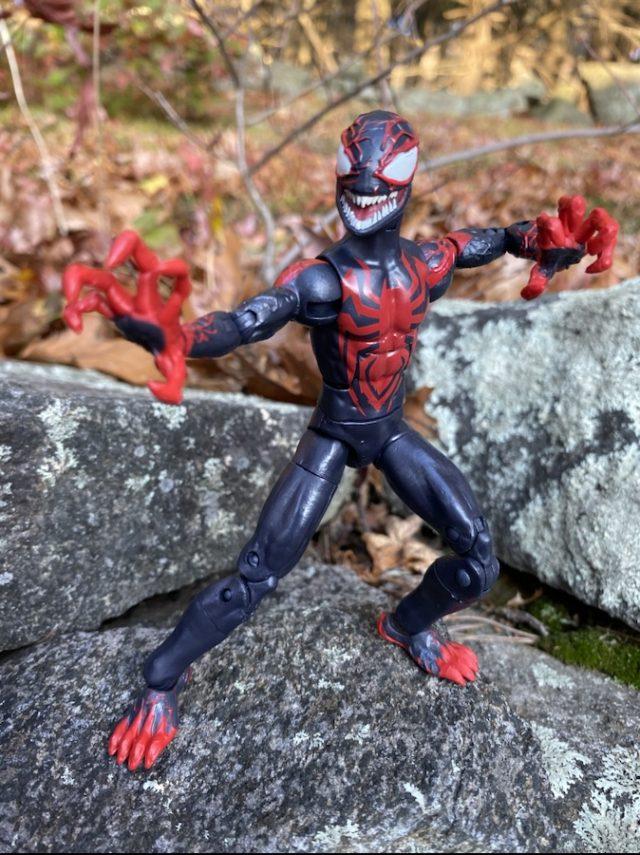 Review Marvel Legends Venomized Miles Morales Venompool Series Figure