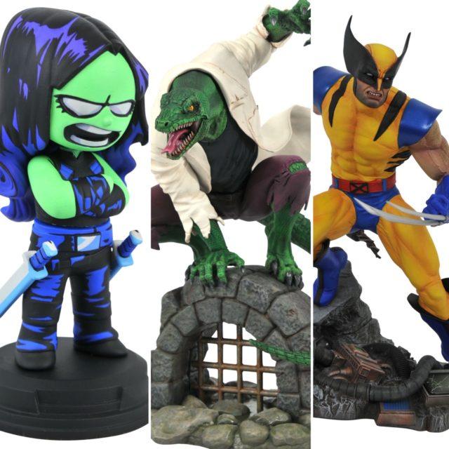 Diamond Select Toys Gamora Lizard Wolverine Statues January 2021