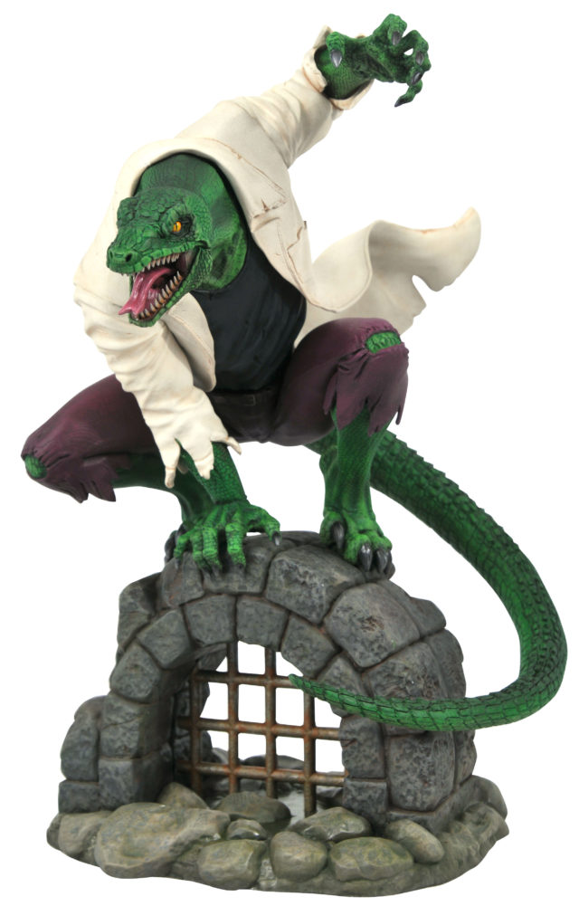 Diamond Select Toys The Lizard Marvel Premier Collection Resin Statue