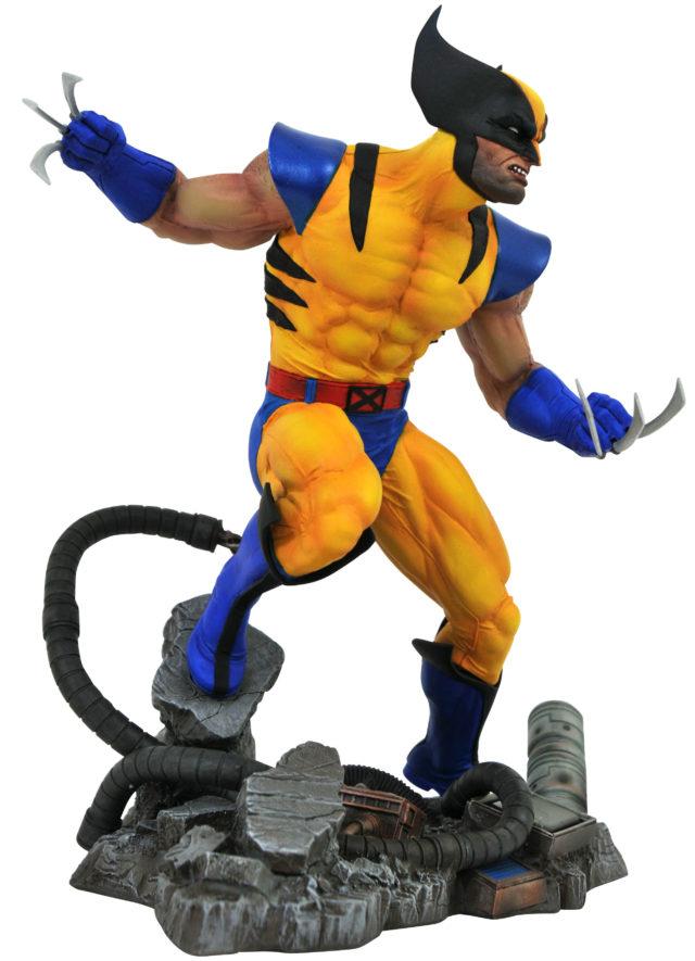 Marvel Gallery VS Tiger Stripe Wolverine Figure Diamond Select Toys