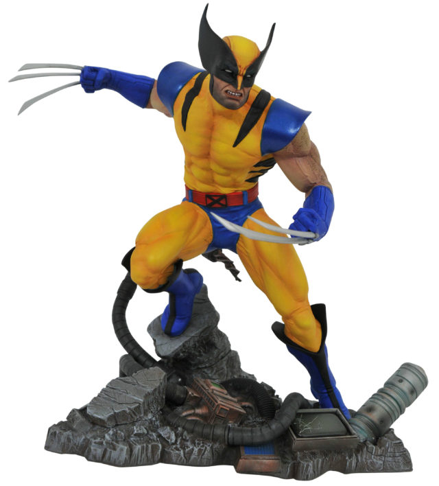 Marvel Gallery Wolverine Tiger Stripe PVC Statue