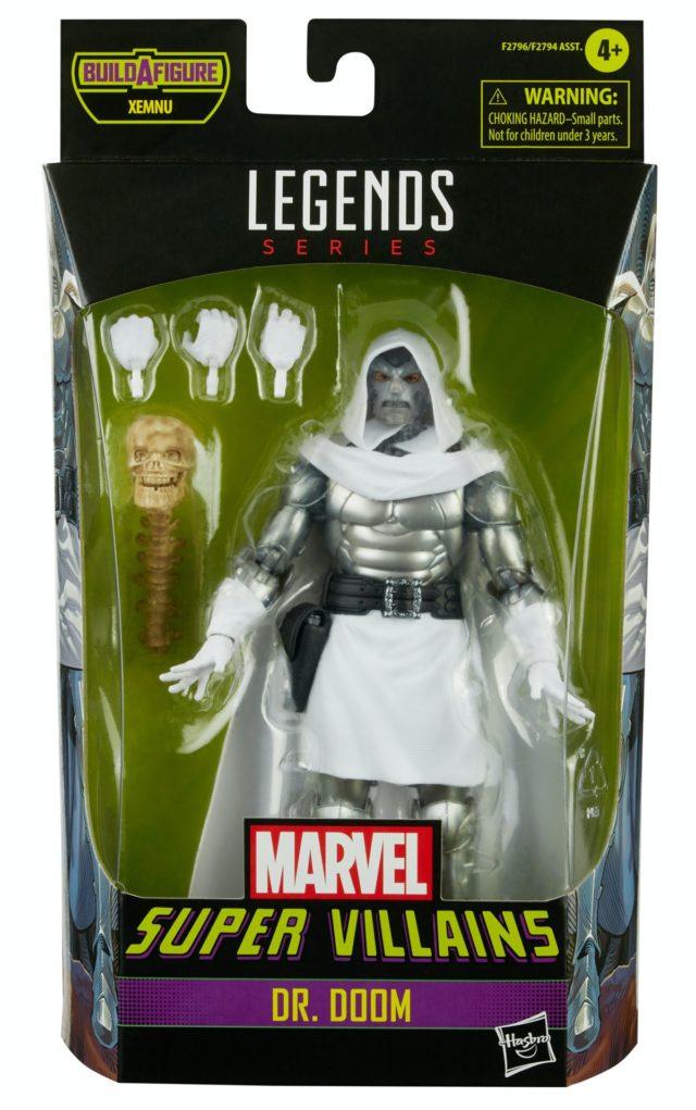 2021 Marvel Legends God Emperor Doom Figure Packaged Secret Wars